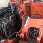 Hitachi ZX135US Boom Repair