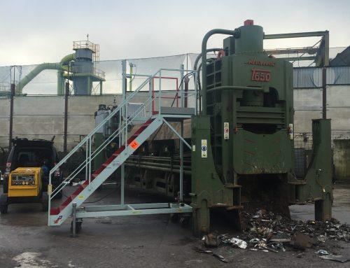 Idromec T650 Scrap Shear Service