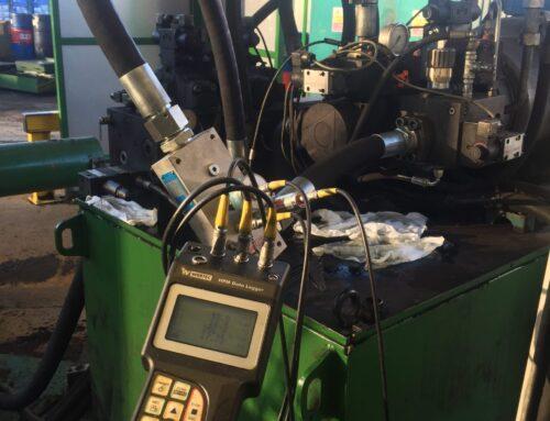 Hydraulic Flow Pressure test Baler