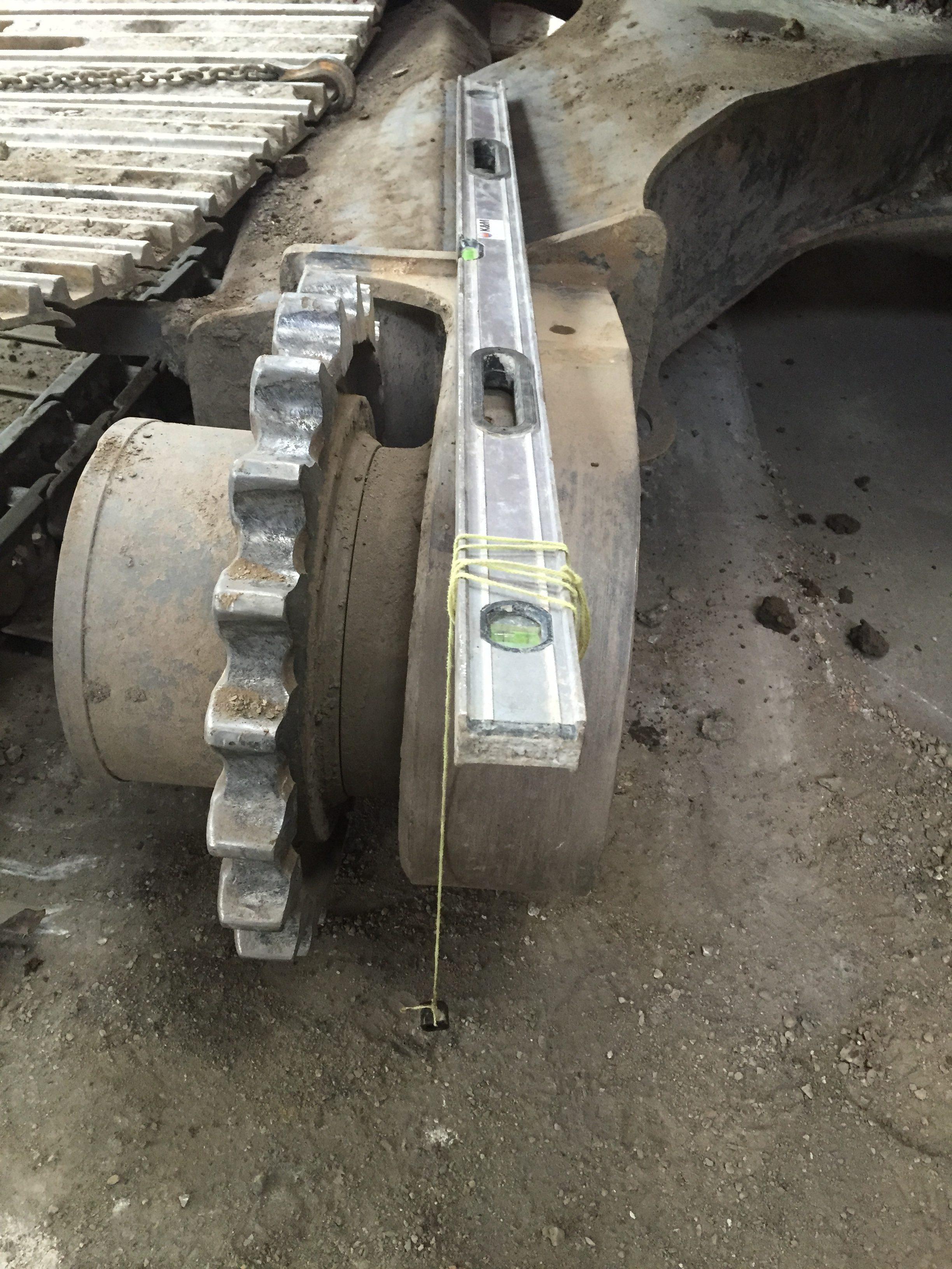 Excavator Track Frame Repair - Agriquip Engineering