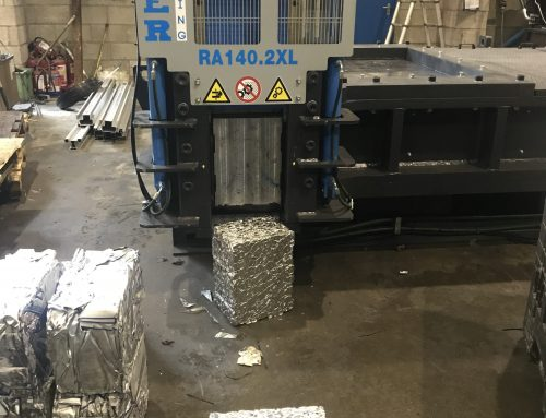 Roter Recycling Automatic Baler RA140.2XL